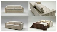 Divani letto Made in italy Sofa Bed, Storage Solutions, Space Saving, Home Projects, Mattress, Ottoman, Armchair, Bedding, Design
