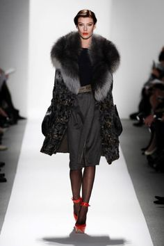 Dennis Basso Fall 2012-Winter 2013 runway fashion chic luxury furs