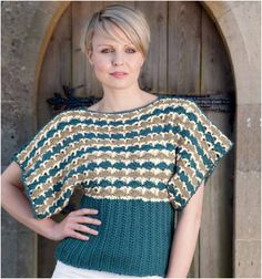 10 Free Patterns For Amazing Knitted And Crocheted Spring Tops
