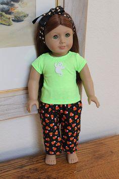 American Girl Doll Clothes Halloween Pajamas by Sariahsdollcloset, $9.99