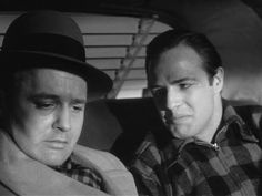 Rod Steiger and Marlon Brando in the famous 'I could have been a contender' scene from On the waterfront. 10 out of 10.