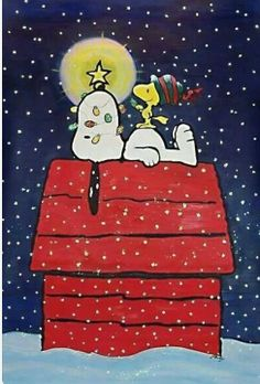 Snoopy and Woodstock:: A Charlie Brown Christmas. Snoopy Love, Snoopy E Woodstock, Charlie Brown Snoopy, Peanuts Christmas, Noel Christmas, Winter Christmas, Vintage Christmas, Christmas Crafts, Charlie Brown Christmas Decorations