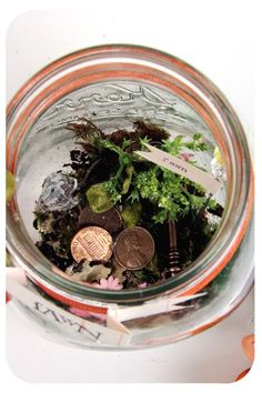 A jar to find and catch fairies in...