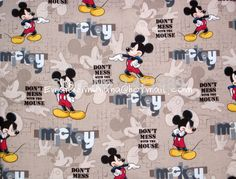 cotton fabric mickey mouse - Google zoeken