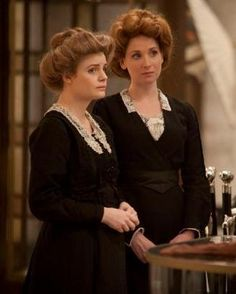 I would love to try an Edwardian 'up-do'- I'm inspired by the shop girls soft swept hairstyles in Mr Selfridge