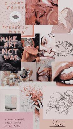 Collage art design ideas 39 Ideas for 2019 Tumblr Wallpaper, Disney Wallpaper, Galaxy Wallpaper, Wallpaper Backgrounds, Pink Wallpaper, Mobile Wallpaper, Mode Collage, Aesthetic Collage, Collage Art