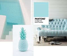 Island Paradise Pantone colour for Spring 2017