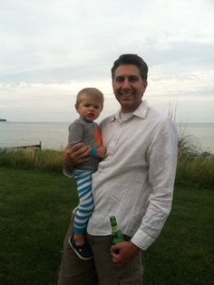 Ben and Maddox at Kate & Johns house on the Chesapeake Bay !!