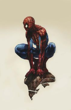 Spiderman Illustration by simonebianchi.deviantart.com on @deviantART
