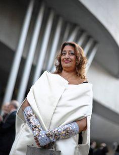 Architect Zaha Hadid