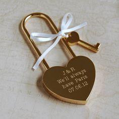 Wedding Favours, Wedding Cards, Wedding Gifts, Wedding Invitations, Wedding Unique, Wedding Ideas, Love Lock, Presents For Boyfriend, Boyfriend Gifts
