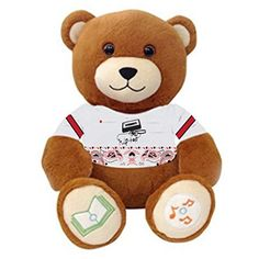 Hip-Hop DJ Bear Ultra-portable Wireless Bluetooth Teddy Bear Speaker,recordable Stuffed Animal Compatible with All Bluetooth Devices Victory Teddy Bear http://www.amazon.com/dp/B0184ILGJS/ref=cm_sw_r_pi_dp_gH5swb17B85J3