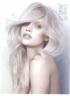I love this lavendar/grey blonde