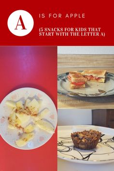 5 snacks that start with the letter A