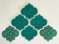 Chevron Crochet, Crochet Blocks, Crochet Squares, Crochet Granny, Crochet Mandala, Crochet Art, Crochet Motif, Crochet Doilies, Crochet Embellishments