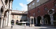 Piazza Mercanti em Milão #viajar #viagem #itália #italy