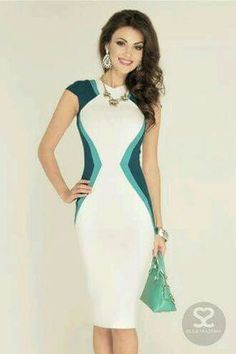 I would like more sleeve but I like the colors and the illusion of a smaller waist Elegant Outfit, Elegant Dresses, Sexy Dresses, Beautiful Dresses, Evening Dresses, Short Dresses, Fashion Dresses, Summer Dresses, Pretty Dresses