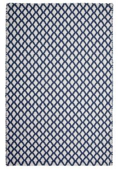 Interlaken Rug - Denim White | Hook and Loom - Attractive, affordable rugs, hand-woven in a range of eco-friendly colors.