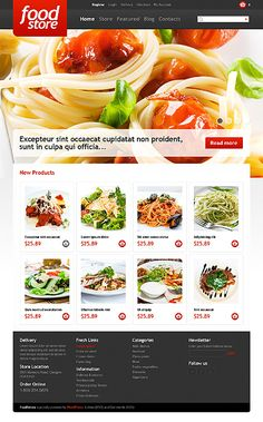 Food Store Jigoshop Theme #website http://www.templatemonster.com/jigoshop-themes/43982.html?utm_source=pinterest&utm_medium=timeline&utm_campaign=food