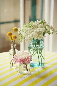 queen anne's lace in mason jars | mason jars, jelly jars and vintage bottles. peony, queen annes lace ...