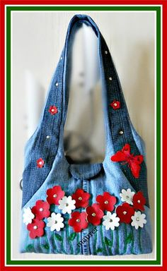 Textile fancy and not only: Bags of jeans
