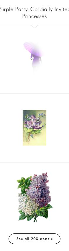 """""""Purple Party...Cordially Invited Princesses"""" by anjelakewell ❤ liked on Polyvore featuring flowers, pansies, backgrounds, floral background, flower backgrounds, purple, fiori, sfondi, blumen and fillers"""