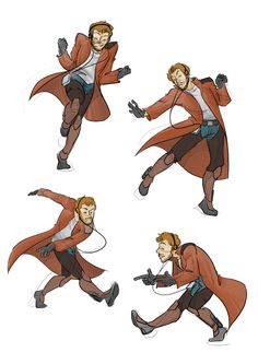 Peter Quill dance´s