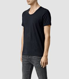 Men's Sever U-scoop T-Shirt (Chalk) - product_image_alt_text_2