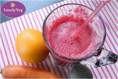 Cékla turmix naranccsal és répával - LovelyVeg Grapefruit, Smoothie, Food, Diets, Eten, Smoothies, Meals, Diet