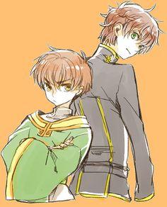 Code geass> Card cardcaptor Sakura  http://touch.pixiv.net/member_illust.php?id=4289649&type=manga&p=3