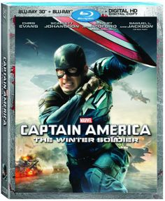 CAPITAIN AMERICA WINTER SOLDIER (BLU-RAY 3D / BLU-RAY DISC HIGH DEFINITION / DIGITAL HD ULTRAVIOLET)