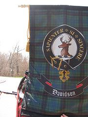 Davidson clan banner
