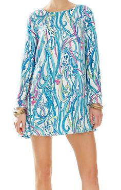 Lilly Pulitzer Colette Tunic Dress in Long Story