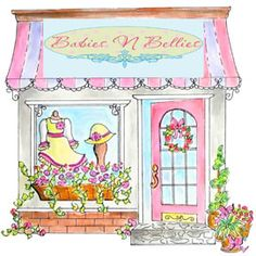 An exquisite online shopping mall filled with wonderful women, beautiful shops and beautiful websites. Cute Images, Pretty Pictures, Paris Themed Cakes, Building Painting, Cute Paintings, Cute Coloring Pages, Barbie, Ink Painting, Whimsical Art