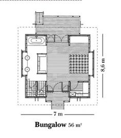 maldives beach bungalow design house floor plans | over the water bungalow floor plan - Google Search ...