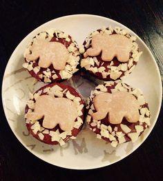 Elephant Chocolate muffins  Schokielefantenmuffins