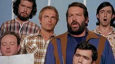 Bud Spencer & Terence Hill - Cena do coral ''Lalalalalala'' Filme Dupl. Professional Swimmers, Bud Spencer, Mario, Terence Hill, Western Film, Film Director, Screenwriting, For Stars, Growing Up