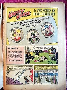Mighty Mouse #8 Golden Age Comic 1948- St. John's Publishing 3 • CAD 26.29