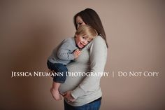 Maternity with toddler photography