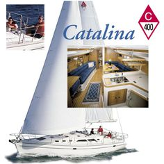 Catalina 400 - One of the boats I'm most seriously considering to liveaboard.