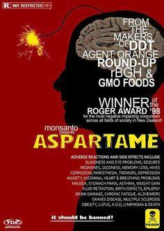 Monsanto, makers of agent orange gmos pesticides and aspartame