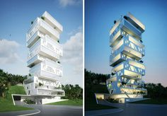 The Cube by Orange Architects.  It's an apartment building.  I forget where.