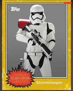 Stormtrooper - Star Wars:The Force Awakens Trading Cards