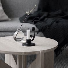 We got the most amazing retailers you can ever dream about - here @nr9isandefjord posted this nice atmosphere with our Table in oak. Thank you for styling and posting this  #kristinadamstudio #retailer #regram #happyweekend