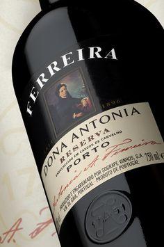 #PortWine - Ferreira-Dona-Antónia-Tawny-Reserva #Portugal