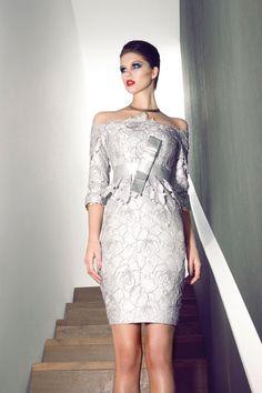 Vestido de Cocktail de Carla Ruiz 2013 - Modelo 88217