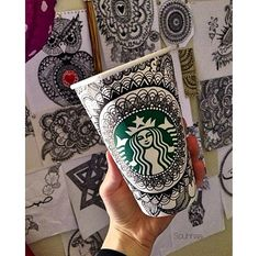 Art by Instagram user @souhhaa. #WhiteCupContest