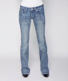 Another great find on #zulily! Light Stone Wash Andrea Bootcut Jeans - Women & Plus by Carreli Jeans #zulilyfinds