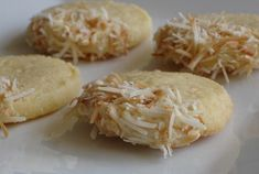 Coconut Oatmeal Cookies with White Chocolate