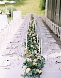Featured Photographer: Romance Weddings by Joseba Sandoval; Wedding reception idea